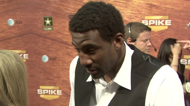 Amare Stoudemire at the Spike TV's 2nd Annual Guys' Choice Awards at Sony Studios in Los Angeles California on May 31 2008
