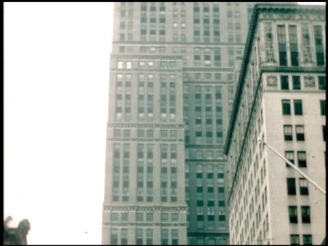 [amateur film: air travel, san francisco, salt lake city, new york city] - 7 of 9 - 1940年点の映像素材/bロール
