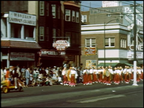 [amateur film: atlantic city, shrine parade] - 9 of 10 - see other clips from this shoot 2296 stock videos & royalty-free footage