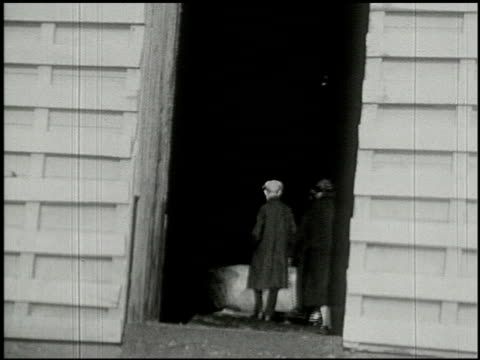 [amateur film: ice harvest, camp minsi, 1921] - 5 of 14 - see other clips from this shoot 2035 stock videos & royalty-free footage
