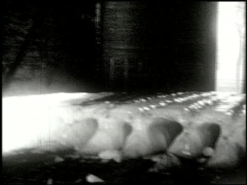 [amateur film: ice harvest, camp minsi, 1921] - 6 of 14 - see other clips from this shoot 2035 stock videos & royalty-free footage