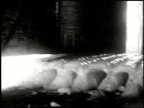 vidéos et rushes de [amateur film: ice harvest, camp minsi, 1921] - 6 of 14 - 1921