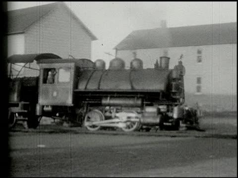 vidéos et rushes de [amateur film: ice harvest, camp minsi, 1921] - 8 of 14 - 1921