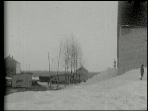 [amateur film: ice harvest, camp minsi, 1921] - 9 of 14 - see other clips from this shoot 2035 stock videos & royalty-free footage