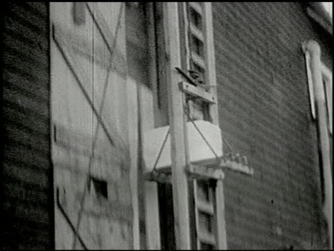 vidéos et rushes de [amateur film: ice harvest, pocono manor, 1919] - 9 of 10 - 1910 1919