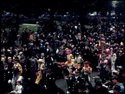 [amateur film: parade of krewe of rex, new orleans, february 25, 1941] - 1 of 9 - parade of krewe of rex stock videos & royalty-free footage