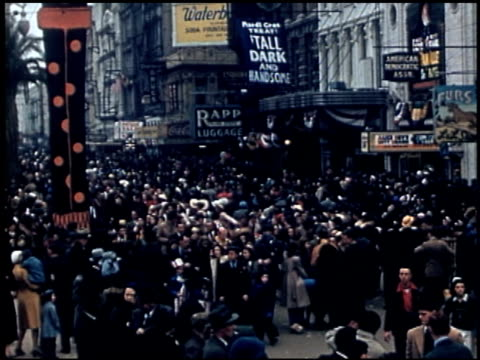 vidéos et rushes de [amateur film: parade of krewe of rex, new orleans, february 25, 1941] - 9 of 9 - la nouvelle orléans