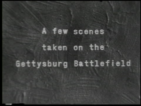 [amateur film: washington & gettysburg] - 14 of 18 - see other clips from this shoot 2057 stock videos & royalty-free footage