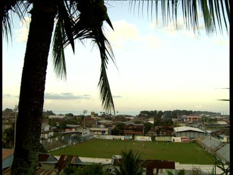 amateur football match trinidad and tobago - trinidad trinidad and tobago stock videos & royalty-free footage