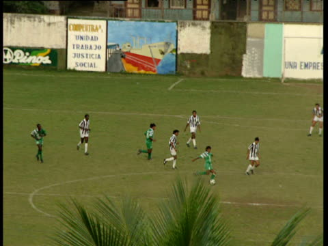 Amateur football match Trinidad And Tobago