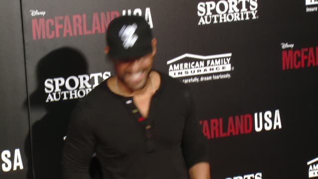 "amaury nolasco at the ""mcfarland, usa"" los angeles premiere at the el capitan theatre on february 09, 2015 in hollywood, california. - el capitan theatre stock videos & royalty-free footage"