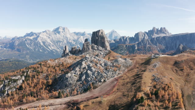 as amazing dolomites region in south tyrol, italy - wop productions stock-videos und b-roll-filmmaterial