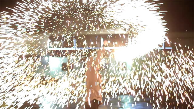 Amazing fire show!