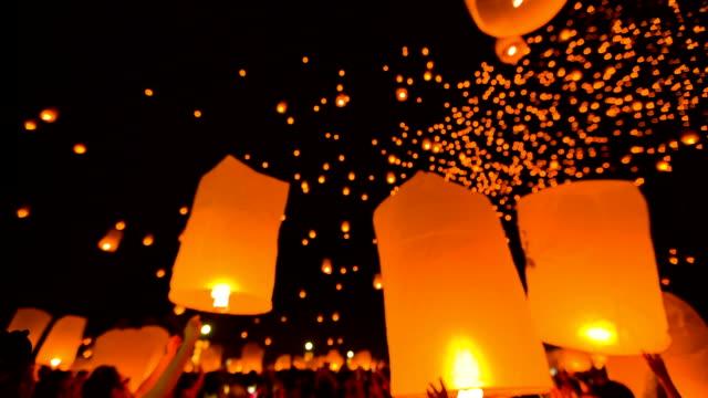 Amazing Loi Kra Tong festival in Thailand.