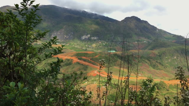 hd : amazing mountain and forest in sa pa , vietnam - sa pa stock videos and b-roll footage