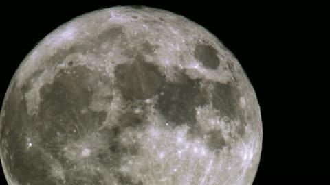 vidéos et rushes de incroyable coup de lune super - lune