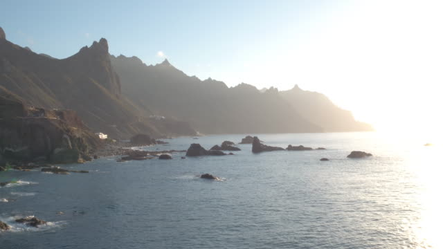 Amazing view of El Draguillo at the north side of Tenerife.