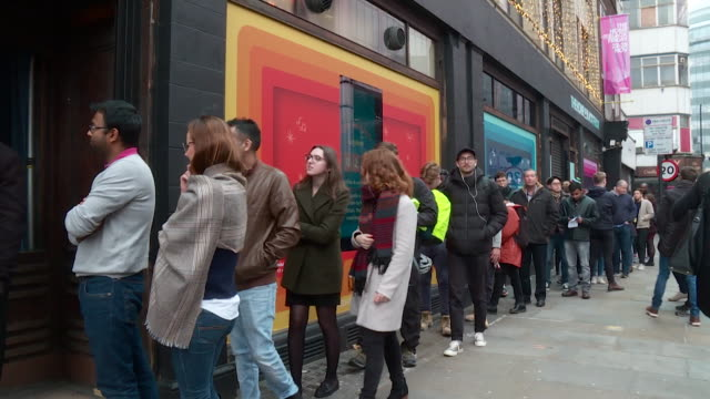 amazon pop up shop in shoreditch on black friday - black friday stock videos & royalty-free footage