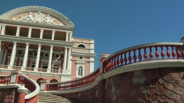 ws la pan amazon theatre (teatro amazonas) opera house / manaus, amazonas, brazil - manaus stock videos and b-roll footage