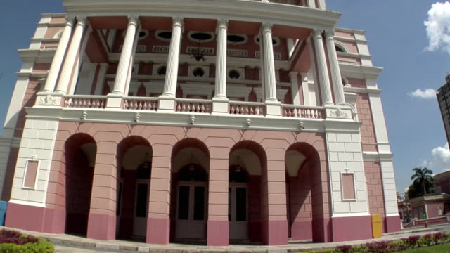 ms tu la amazon theatre (teatro amazonas) opera house / manaus, amazonas, brazil - manaus stock videos and b-roll footage