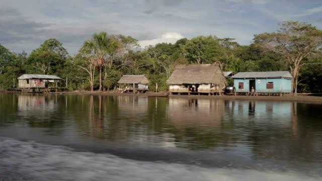 Amazon Village, Peruvian Amazon, Peru