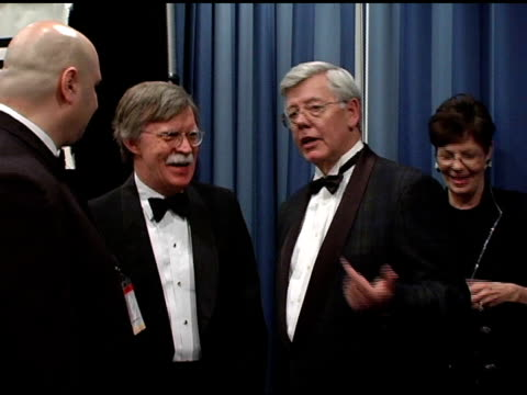 ambassador john bolton us ambassador to the un at the 22nd annual martin luther king ambassadorial reception dinner celebrated by congress of racial... - botschafter stock-videos und b-roll-filmmaterial