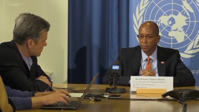 US Ambassador to the UN Conference on Disarmament Robert Wood says Pyongyang's leadership is going down a very difficult and dangerous path