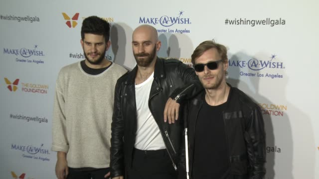 x ambassadors at 4th annual wishing well winter gala presented by makeawish greater los angeles in los angeles ca - wishing well stock videos & royalty-free footage
