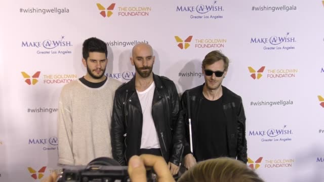 X Ambassadors at the 4th Annual Wishing Well Winter Gala Presented By MakeAWish Greater Los Angeles at Hollywood Palladium on December 07 2016 in Los...