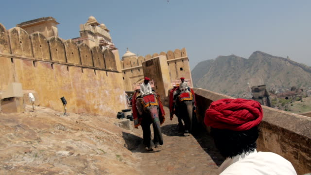 montage: amber fort of jaipur - tourism stock videos & royalty-free footage