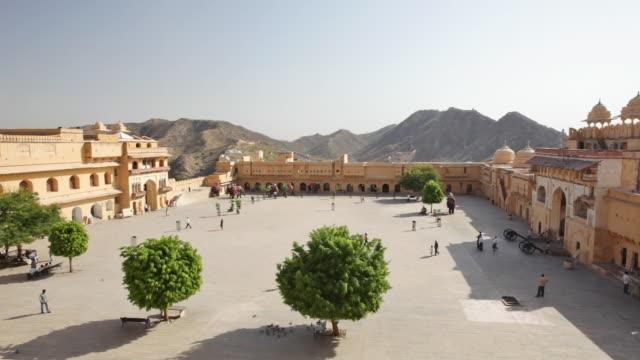 HA Amber Fort, overlooking courtyard/ Jaipur, Rajasthan state, India