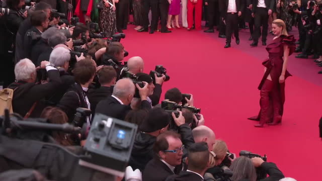 Amber Heard at GIF The 72nd Cannes Film Festival on May 14 2019 in Cannes France