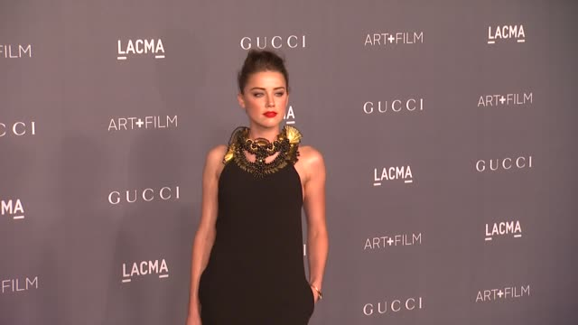 Amber Heard at LACMA Hosts 2012 Art Film Gala Honoring Ed Ruscha And Stanley Kubrick Presented By Gucci on 10/26/12 in Los Angeles CA