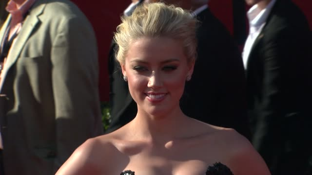 Amber Heard at the 2011 ESPY Awards at Los Angeles CA