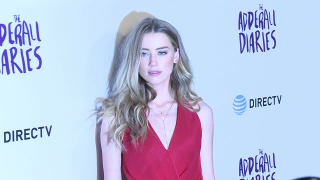 Amber Heard at 'The Adderall Diaries' Los Angeles Premiere at ArcLight Hollywood on April 12 2016 in Hollywood California