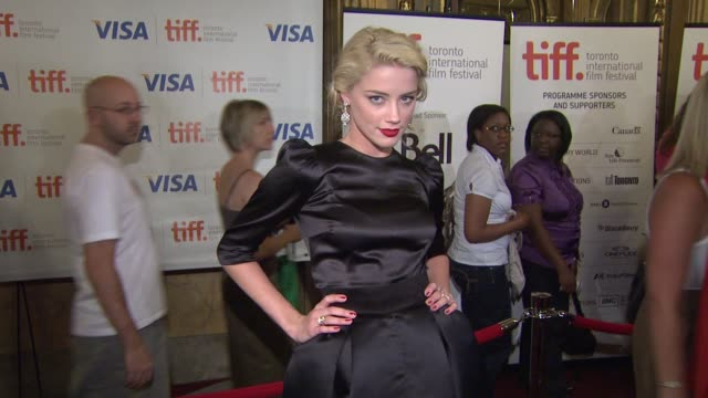 Amber Heard at the 'The Joneses' Premiere at Toronto ON