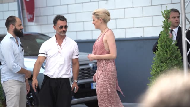 amber heard attends giffoni film festival 2019 on july 25 2019 in giffoni valle piana italy - amber heard stock videos & royalty-free footage