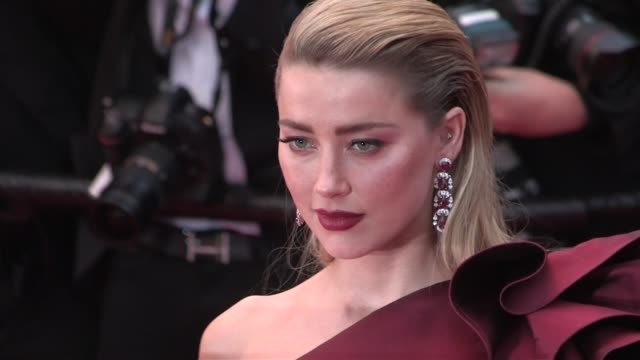 Amber Heard Penelope Cruz Deepika Padukone Liya Kebede Araya Hargate on the red carpet for the premiere of Dolor Y Gloria in Cannes Cannes France on...