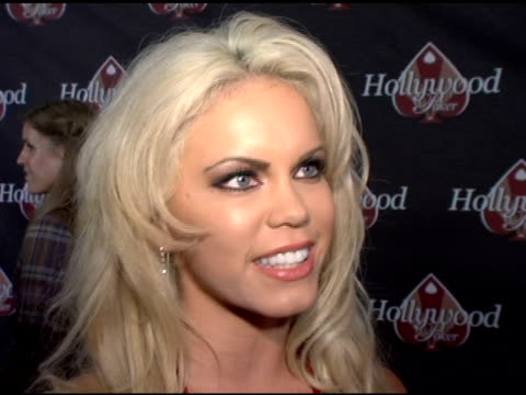 Amber Marie Mekush Miss January on being a poker fan on being a tournament poker player on her thoughts about hollywoodpokercom at the HollywoodPoker...