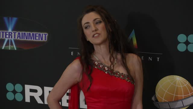 amber martinez at the 24th family film awards at hilton los angeles/universal city on march 24, 2021 in universal city, california. - universal city stock videos & royalty-free footage
