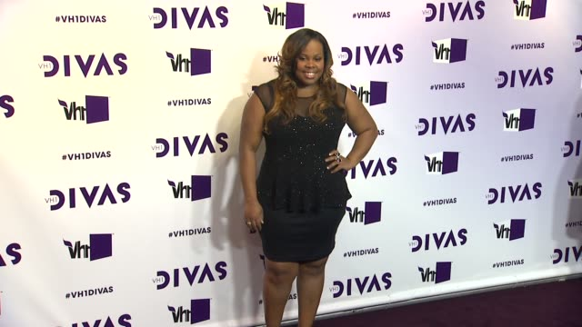 amber riley at vh1 divas 2012 on in los angeles ca - vh1 divas stock videos and b-roll footage