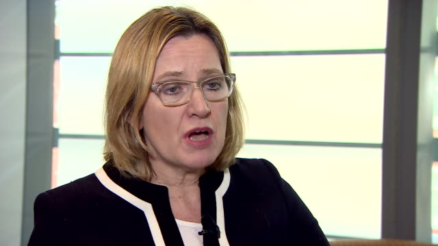 Amber Rudd saying that there 'may be lessons to learn' for British intelligence services after the Westminster terror attack but that also they work...