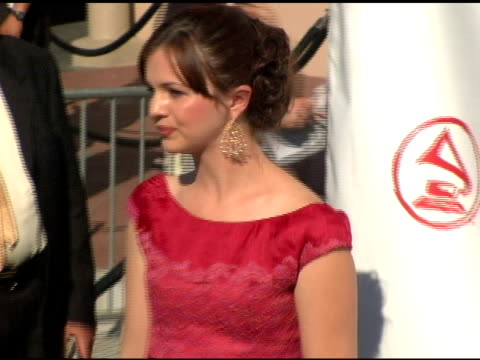 Amber Tamblyn at the 2004 Latin Grammy Awards Arrivals at the Shrine Auditorium in Los Angeles California on September 1 2004