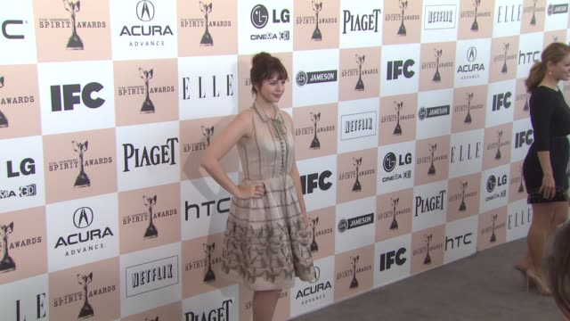 Amber Tamblyn at the 2011 Independent Spirit Awards Arrivals Part 2 at Santa Monica CA