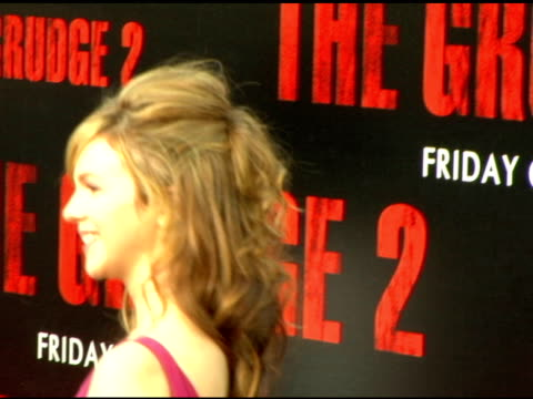 Amber Tamblyn at the 'The Grudge 2' premiere arrivals at Knott's Scary Farm in Buena Park California on October 7 2006
