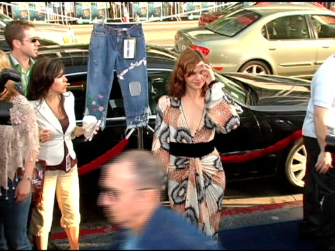Amber Tamblyn at the 'The Sisterhood of the Traveling Pants' World Premiere at Grauman's Chinese Theatre in Hollywood California on May 31 2005