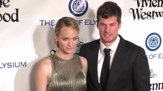 Amber Valletta and Christian McCaw at The Art of Elysium's 9th Annual HEAVEN Gala at 3LABS in Culver City at Celebrity Sightings in Los Angeles on...