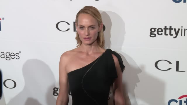 amber valletta at 2016 clio awards at american museum of natural history on september 28 2016 in new york city - amber valletta stock videos and b-roll footage
