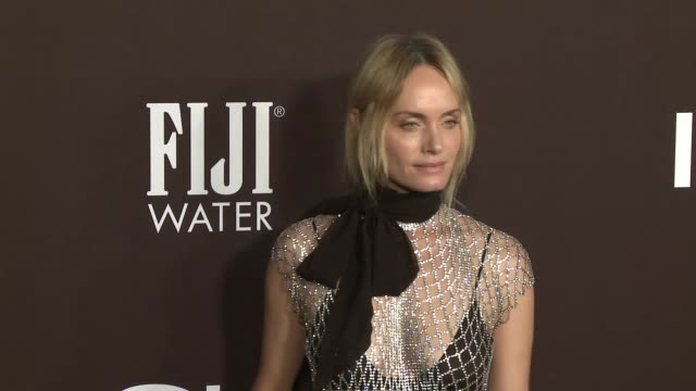 amber valletta at 2018 insyle awards at the getty center on october 22, 2018 in los angeles, california. - アンバー ヴァレッタ点の映像素材/bロール
