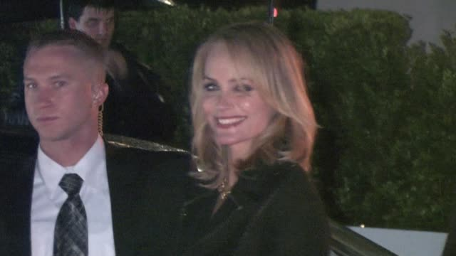 amber valletta at caa party in bel air at the celebrity sightings in los angeles at los angeles ca - amber valletta stock videos and b-roll footage